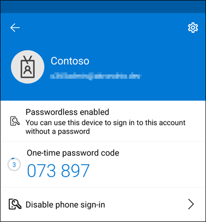 passwordless authentication enabled