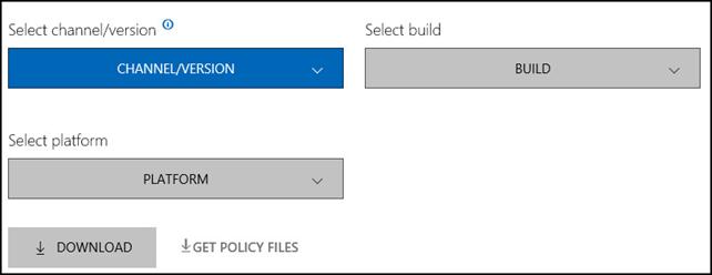 Microsoft Edge for business installer
