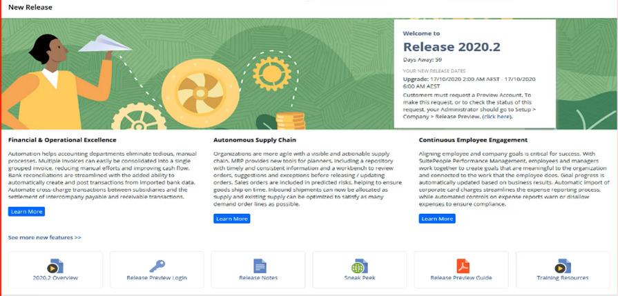 netsuite release process