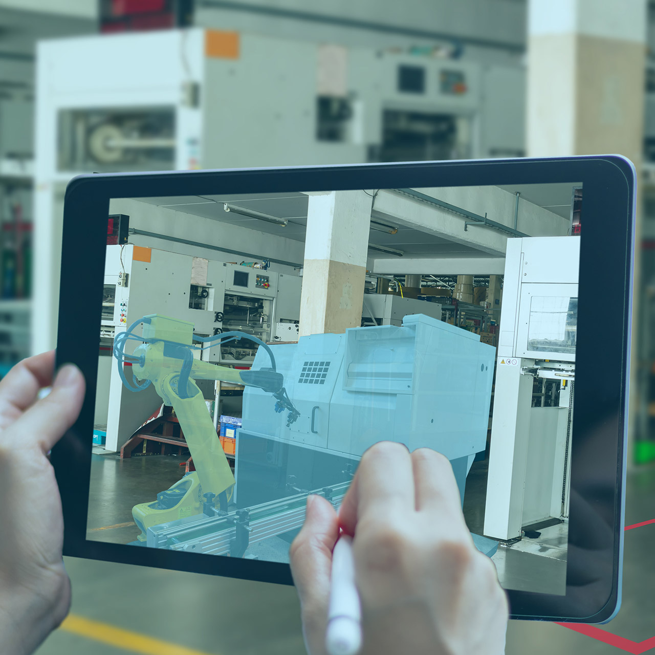 augmented reality device for equipment manufacturers and IoT