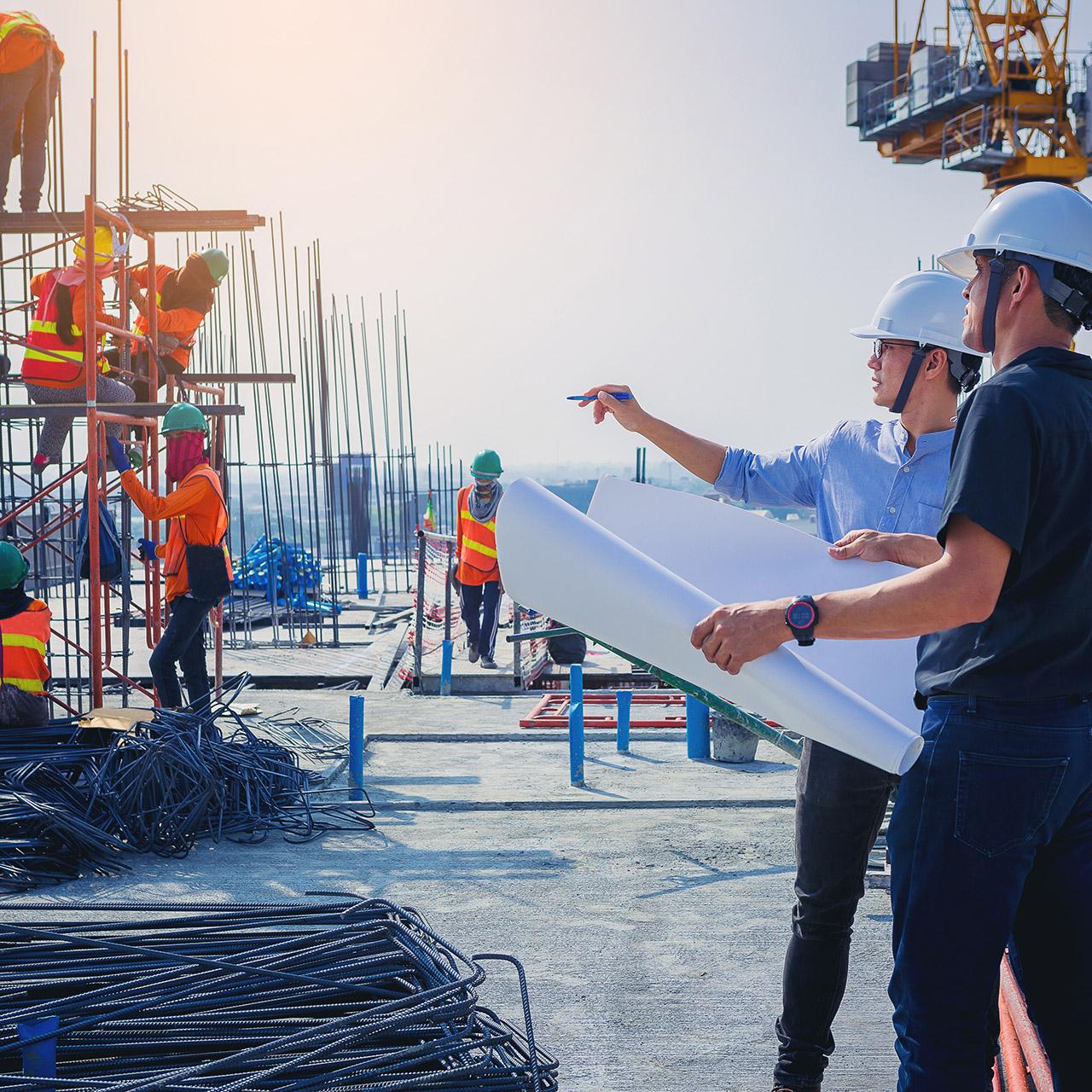 construction companies software technology