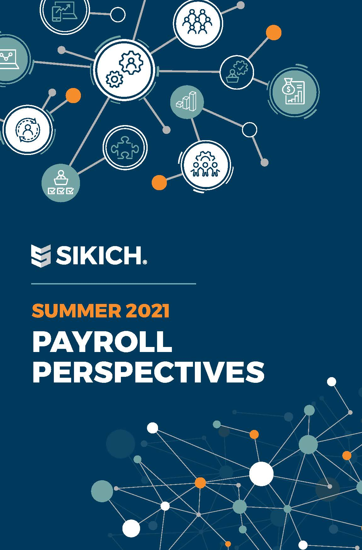 Sikich Human Capital and Payroll Perspectives 2021 Cover Image