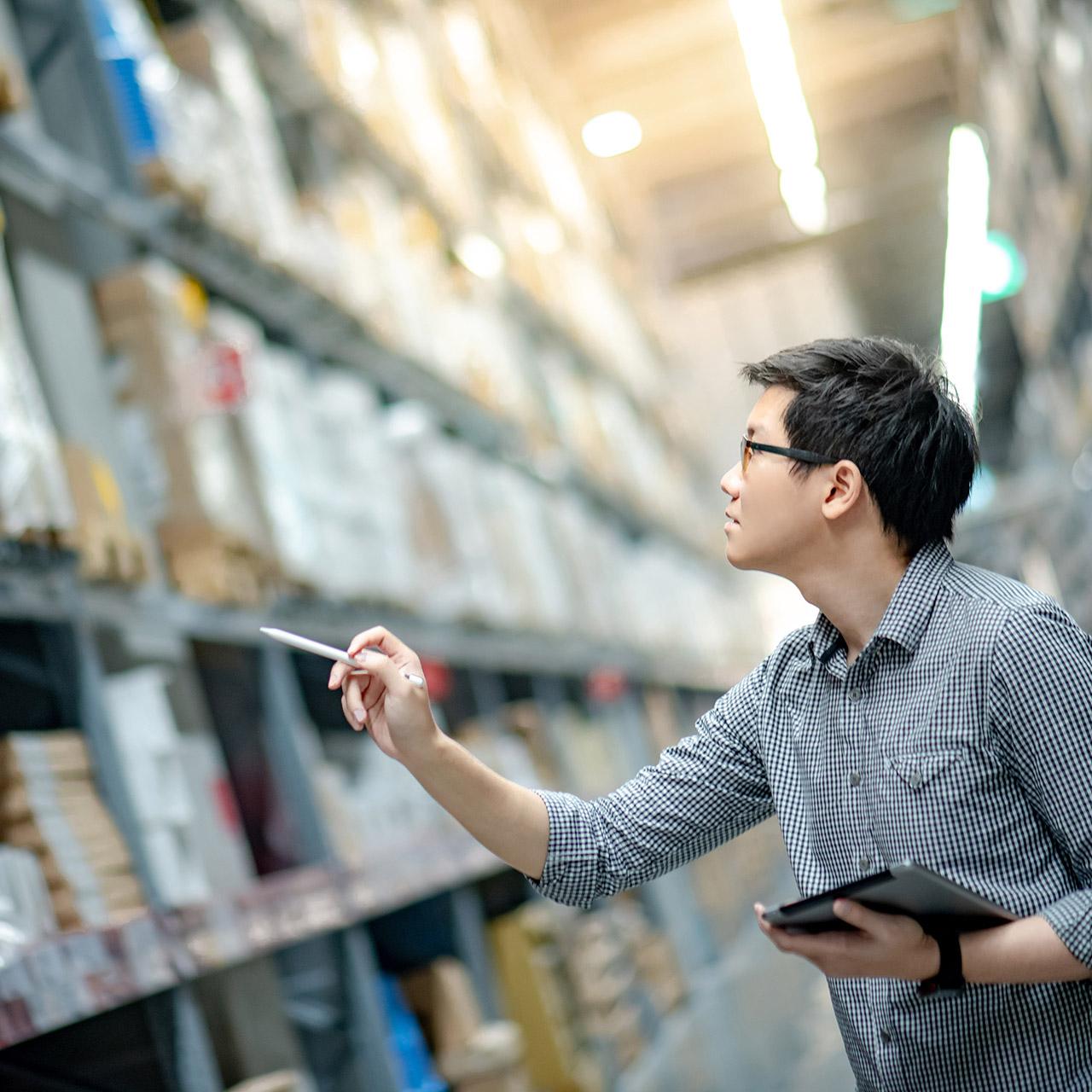 distributor inventory and vendor management